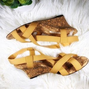 Excellent Condition Manolo Blahnik Cork Wedges